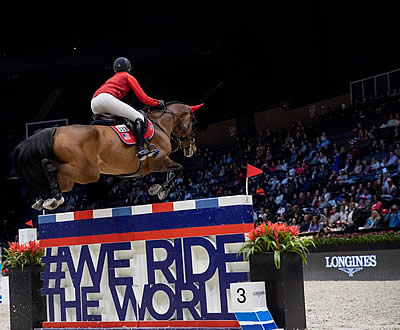 European Domination Continues in Riders Masters Cup at Longines Masters of New York
