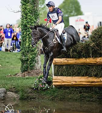 Martin and Tsetserleg Hold On to Lead in Land Rover/USEF CCI5* Eventing National Championship