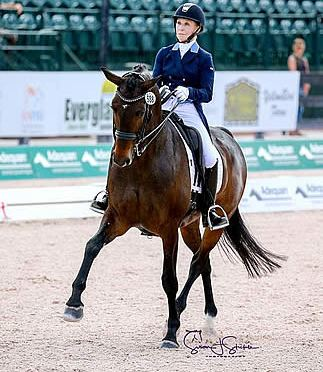 Betsy Steiner and Swiss W Win FEI Intermediaire-1 Freestyle CDI3* on Final Day of AGDF