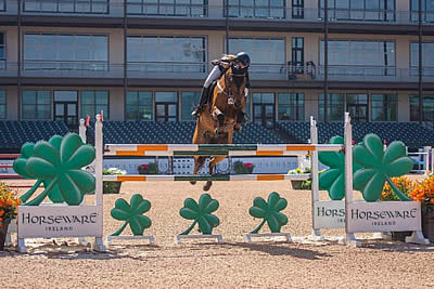 Vanderveen and Bull Run's Prince of Peace Win $36k Horseware Ireland Welcome Stake CSI 3*