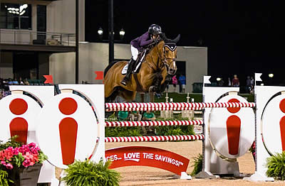 Lacey Gilbertson and Baloppi Produce a $132,000 Ingles Grand Prix CSI 3* Win at TIEC