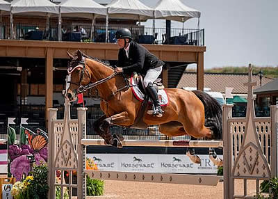 Todd Minikus Tops the $36,000 1.45m Sunday Classic CSI 3* with Amex Z at Tryon