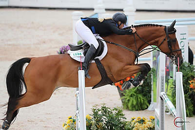 Kristen VanderVeen and Bull Run's Almighty Clinch $36k Sunday Classic CSI 4* at TIEC