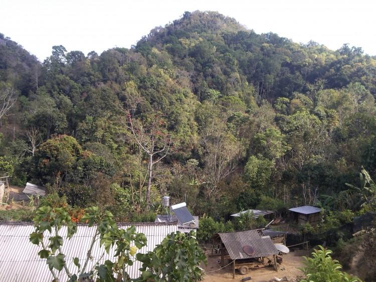 Wa Long village in Man Zhuan