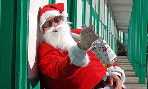 The Horses Mouth Drunk Santa Dont Get Drunk