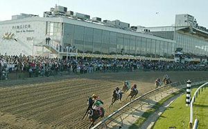 Racing at Pimlico