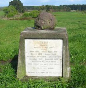 The Memorial to Bess.