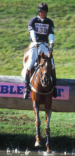 William Fox-Pitt and Stunning on their way to winning The British Open at Gatcombe in 2003