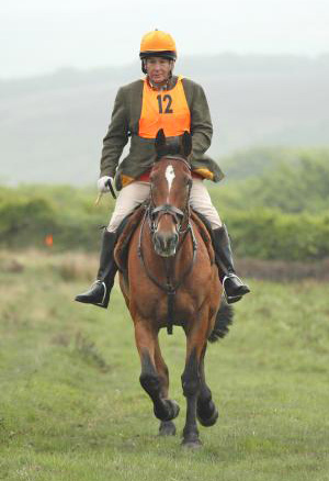 Fiona Griffiths and Oliver Twist IV in the Exmoor Experience last year
