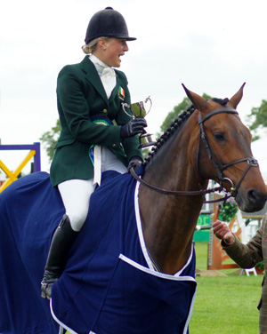 Camilla Speirs and Portersize Just a Jiff, pictured at Bramham last year.