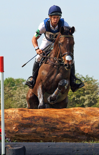 Chris Burton and Graf Liberty lead the CCI1*.