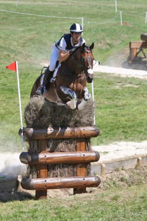2011 Eventing World Cup winner Clarke Johnstone (NZ) pictured on Orient Express.