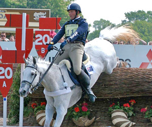 Clayton Fredericks in a Champions helmet.