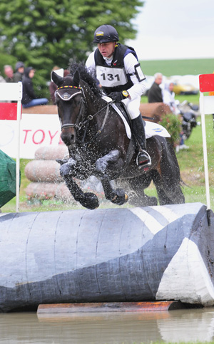CIC2* winner Andreas Dibowski and Songline 2.