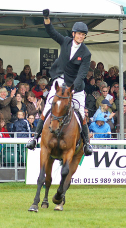 William Fox-Pitt and Parklane Hawk after their Burghley win earlier this year.