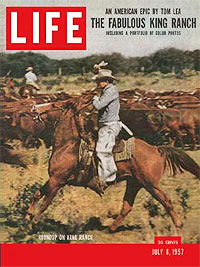The legendary King Ranch was featured in this 1957 issue of Life magazine.