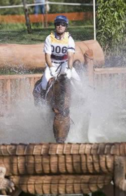 Darren Chiacchia pictured at the 2007 Pan American Games riding Better I Do It. © Ken Braddick/FEI