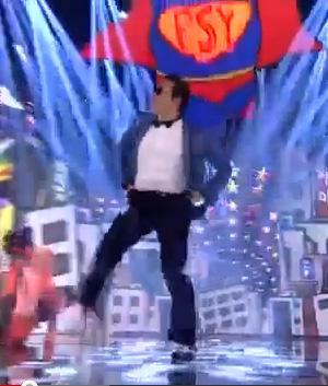 Psy gets down, Gangnam style.