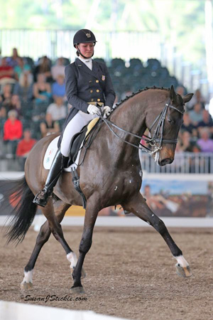 Adrienne Lyle and Wizard at 2013 World Dressage Masters CDI5* Palm Beach.