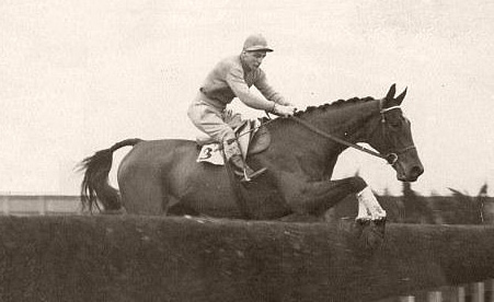 1934 Grand National winner Golden Miller.