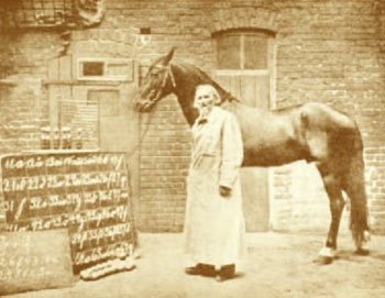 Wilhelm von Osten and Clever Hans.