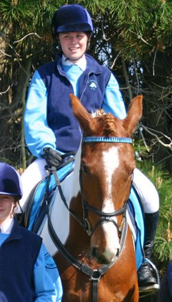 Susie Stewart and Cowboy, pictured in 2010.