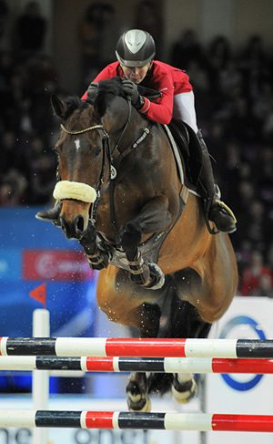 Russia's Anna Gromzina qualified for the Rolex FEI World Cup Jumping Final 2013 with victory at the FEI Central European League Final in Warsaw  last month.