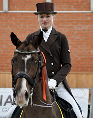 Ukraine's Inna Logutenkova and Stallone earned a place at the World Cup Dressage Final in Gothenburg later this month with victory at the Central European League Final in Zhashkiv, Ukraine last weekend.