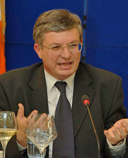 EU Commissioner for Health and Consumers Tonio Borg.