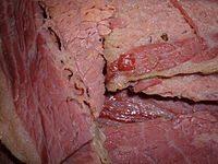 Corned beef.