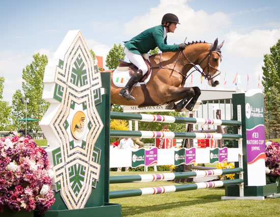 A double-clear from anchorman Cameron Hanley and Antello secured victory for Ireland in the 11th leg of the Furusiyya FEI Nations Cup Jumping 2013 series at Spruce Meadows in Calgary, Canada on Thursday.