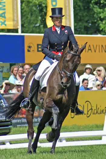 CCI3* leader Pippa Funnell and Or Noir de la Loge. ©