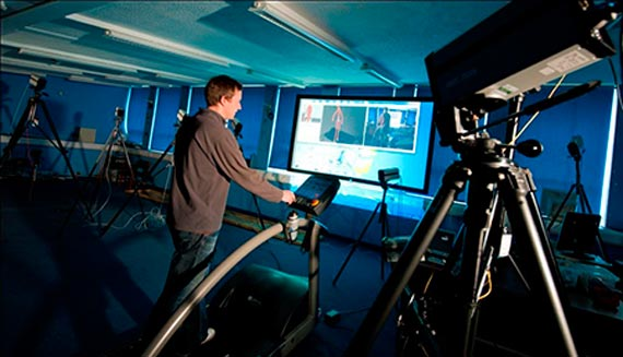 University of Liverpool researchers analysed 25,000 human steps made on a pressure-sensitive treadmill at the University's Gait Laboratory to probe the workings of the foot.