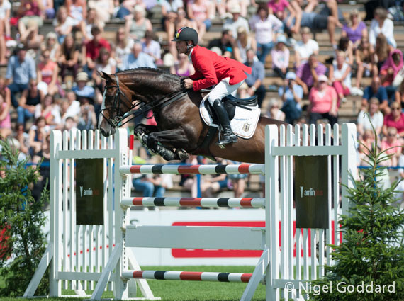 Marcus Ehning and Plot Blue jumped two double clears in the Furusiyya FEI Nations Cup to help secure the win for Germany.