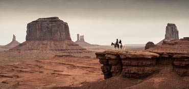 A scene from The Lone Ranger.