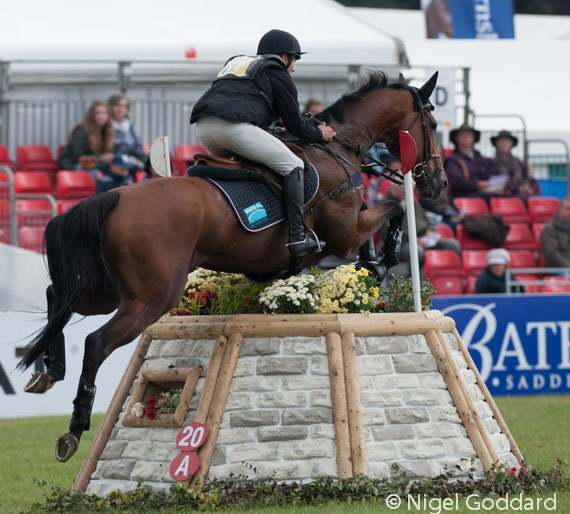 France's Jean Teulere and Matelot du Val are in second place going into the final phase.