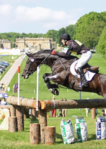 Sara Reynard's winning picture of Alexander Peternell and AP Topstar at Bramham.