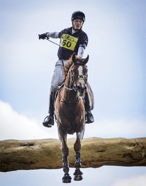 Dave Mead's picture of William Fox-Pitt and Chilli Morning was runner-up.
