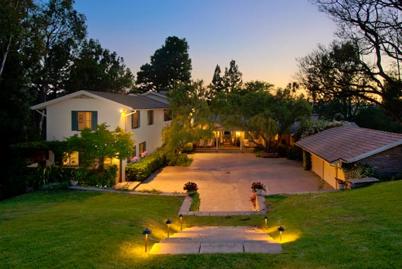 A 1,0.2-acre slice of Beverly Hills zoned for the keeping of horses is on the market for $US34.5m. Photo: Michael McNamara