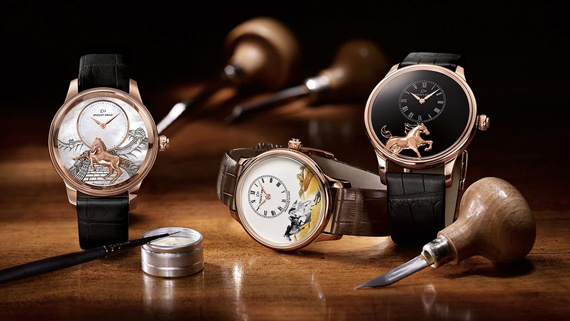 The Jaquet Droz equine offerings.