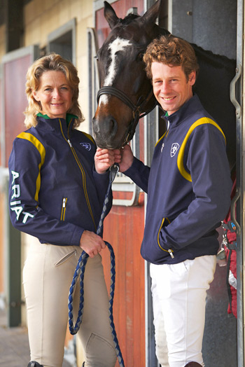 Some of Australia's elite eventing riders got their first taste of the uniform at a recent training clinic in Britain, including Olympic silver medalist Lucinda Fredericks and Olympian Chris Burton.