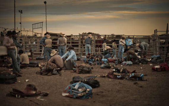 Valerie Prudon's rodeo image won the Arts & Culture open division. Photo: © Valerie Prudon