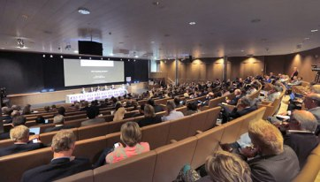 Last year's FEI Sports Forum in Lausanne. This year's forum has a spicier agenda. © FEI Photos/Germain Arias-Schreiber