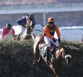 The Grand National at Aintree.