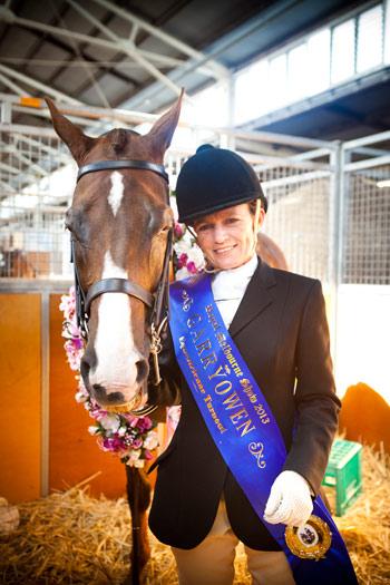 2013 Garryownen winner Susanne Pedersen.