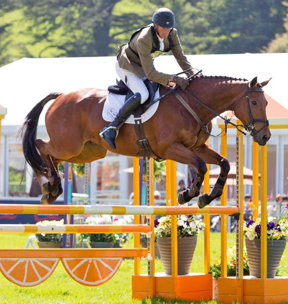 Mark Todd and Landslide finished second in a novice class at Chatsworth.  © Tim Withnall/Any4 Photography