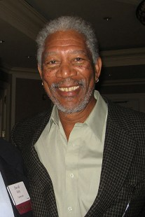 Morgan Freeman. Photo: David Sifry/Wikipedia
