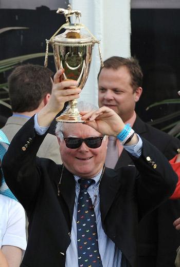 Barry Irwin, owner of 2011 Kentucky Derby winner, Animal Kingdom.