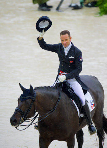 David Marcus and Chrevi's Capital placed 34th individually in their world championship debut at Normandy.