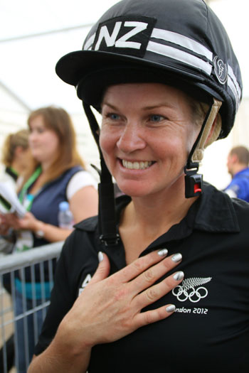 New Zealand individual Jonelle Price, who is in fourth place on Classic Moet.